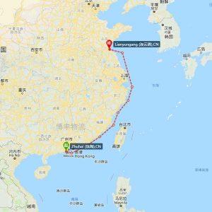 珠海-连云港