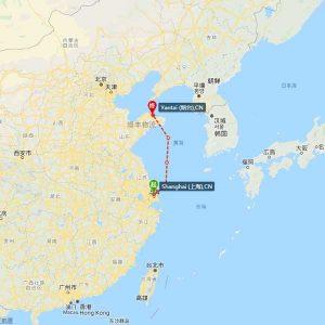 上海-烟台海运