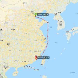 天津-厦门海运