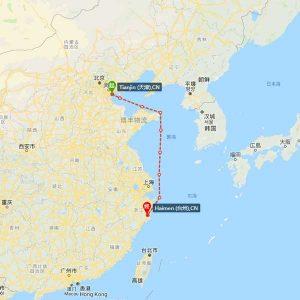 天津-台州海运