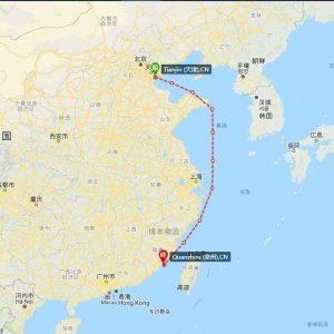 天津-泉州海运