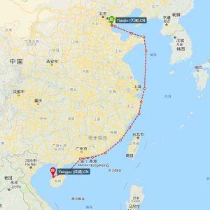 天津-洋浦海运