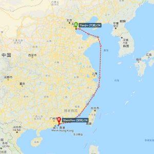 天津-深圳海运