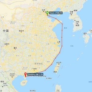 天津-湛江海运
