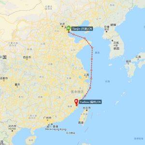天津-福清海运