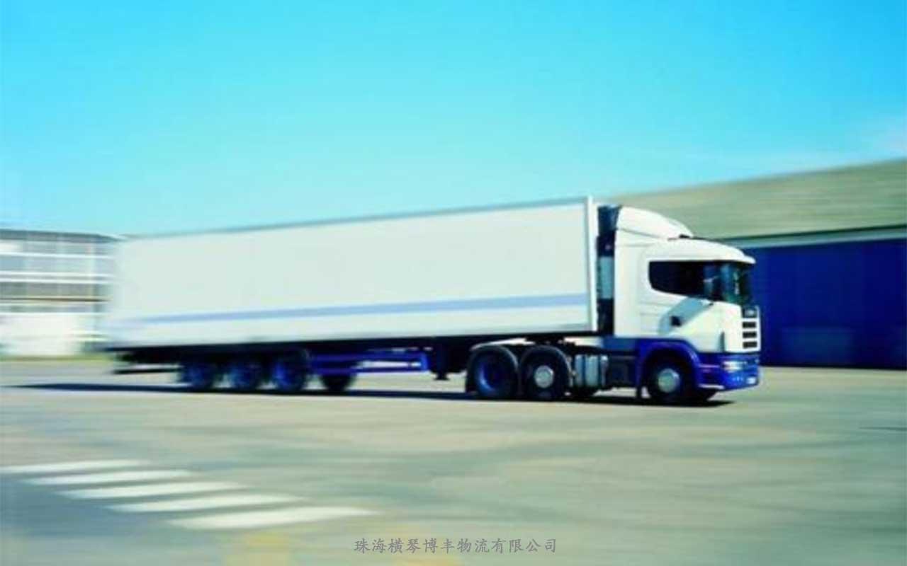 香港物流散货和整车运输的区别